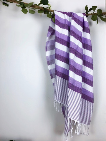 Beach Hammam Towel Purple