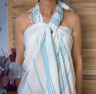 Sultan Slim Hammam Towel White