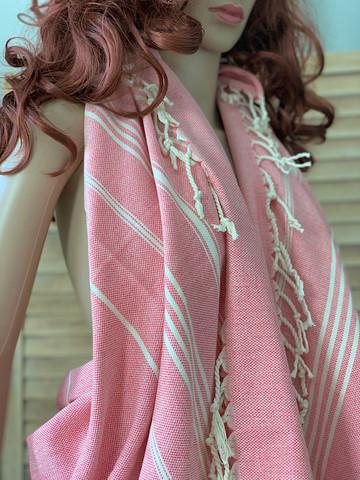 Sultan Slim Hammam Towel Rose Pink
