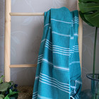 Sultan Hammam Towel Petrol Green