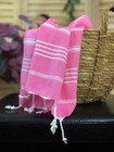 Hand/Face Hammam Towel Sultan  Candy Pink