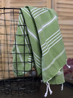 Hand/Face Hammam Towel Sultan Khaki Green