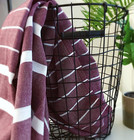 Athena Hammam Towel Wine Red