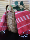 Hand/Face Hammam Towel Sultan Red