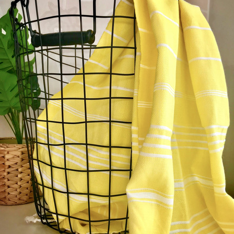 Hand/Face Hammam Towel Sultan Yellow