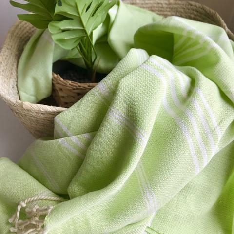 Sultan Slim Hammam Towel Pistachio