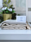 Diamond Hammam Towel & Hand made Olive Oil  Lavender Soap set
