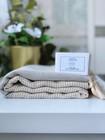 Timantti/Marquise Hamam-pyyhe & Oliiviöljysaippua Paketti