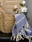 Sultan Slim Hammam Hand Towel Denim Blue