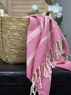 Sultan Slim Hammam Hand Towel Hot Pink
