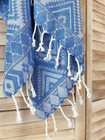 Oriental Hammam Towel Hand-loomed Royal Blue