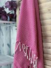 Crystal Hammam-Towel Handloomed Fuchsia