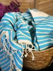 Aphrodite Hammam Towel Turquoise