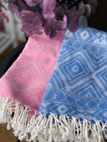 Oriental Hammam Towel Set 2 pcs