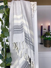 SMYRNA Hammam-Towel Handloomed Grey