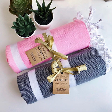 Hammam Towel Set Athena 2 pcs