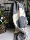Diamond Hammam Towel Anthracite