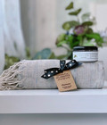 Linen Hammam Towel & Hand made Hammam Soap set