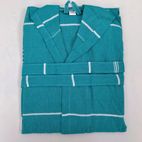 Hammam Bathrobe Petrol Green S