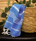Hand/Face Hammam Towel Sultan Ocean Blue