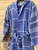 Kids' Hammam Bathrobe Ocean Blue