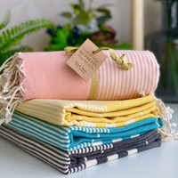 Aegean Hammam Towel Set 4 pcs