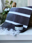 Athena Hammam Towel &  Natural Olive Oil Hammam soap set