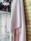 CRYSTAL Hamam Handduk Handvävda Ljus Rosa
