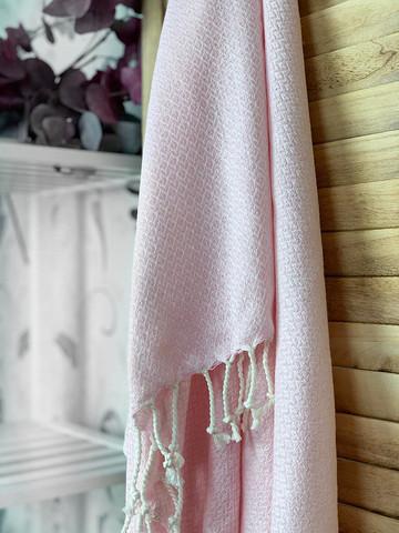 CRYSTAL Hammam Towel Handloomed Powder Pink
