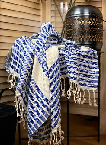 Aphrodite Hammam Towel Ocean Blue
