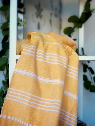 Sultan Hammam Towel Mustard