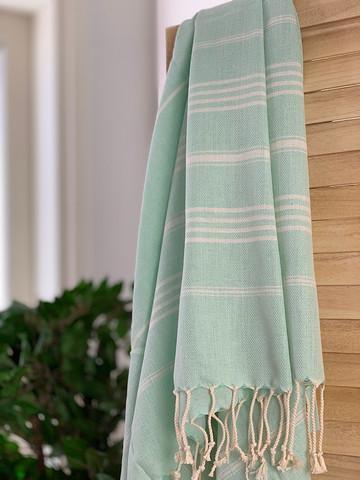 Sultan Slim Hammam Towel Aqua Mint