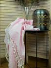 Oriental Hamam Handduk Rosa Handvävda