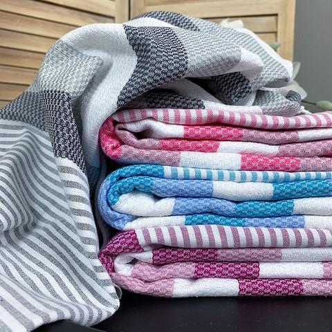 Beach Hammam Towel Set 4 pcs