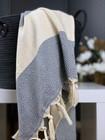 Hand/Face Hammam Towel Diamond Grey