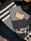 Aegean Hammam Towel Set Bath & Hand Towel + Soap