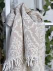 Jacquard Hammam Towel Baroque Beige