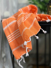 Hand/Face Hammam Towel Sultan Orange