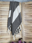Hand/Face Hammam Towel Diamond Black