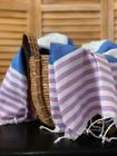 Surf Hammam Towel Ocean Blue-Lila