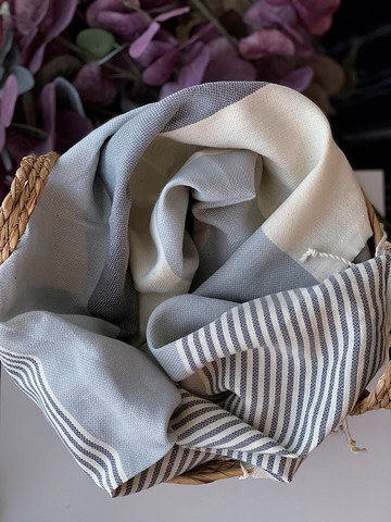 Club Hammam Towel Grey