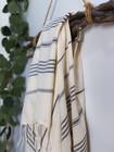 Sultan Slim Hammam Towel White-Grey