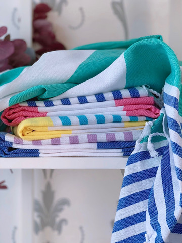 Surf Hammam Towel Set 4 pcs