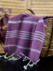 Hand/Face Hammam Towel Sultan Purple