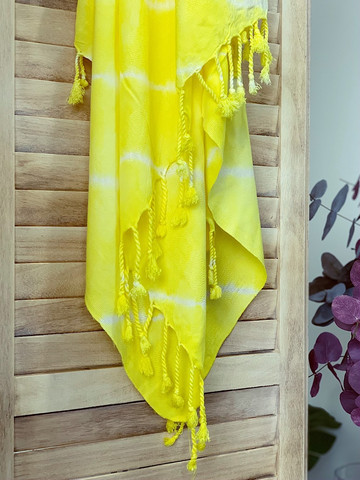 Batiikki Bambu Hamam-pyyhe Sunlight