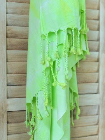 Batiikki Bambu Hamam-pyyhe Lime