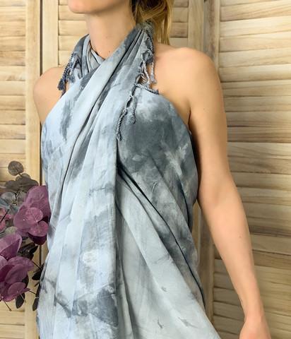 Batiikki Bambu Hamam-pyyhe Marble