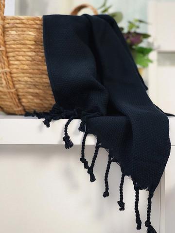 Hand/Face Hammam Towel Ephesus Bluish Black