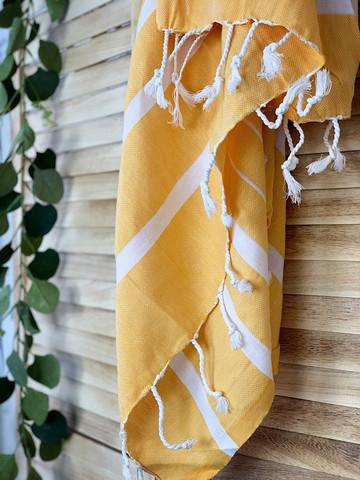Athena Hammam Towel Mustard