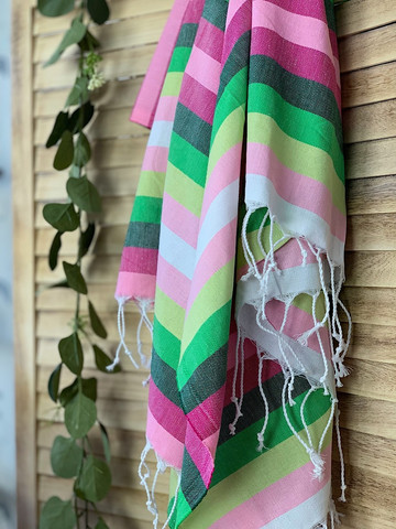 Beach Tropicana Hammam Towel Pink